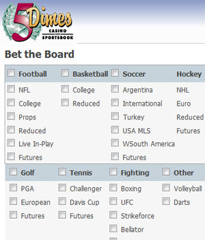 Sports Betting at 5dimes.com